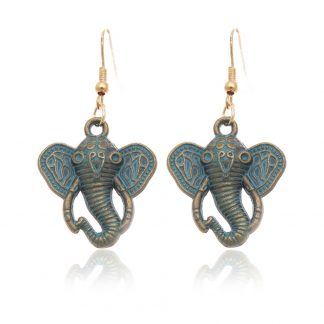 Bohemian Elephant Earrings